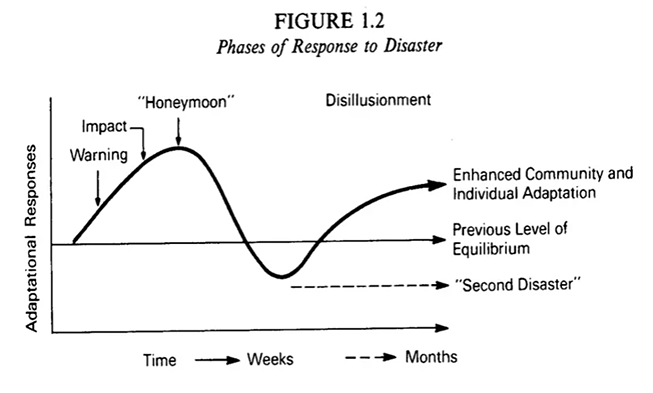 Phases of Response to Disaster