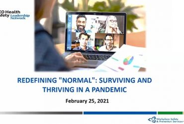 "Redefining ""normal"": Surviving and Thriving in a Pandemic"